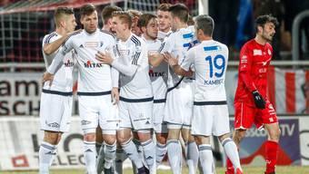 Im Abstiegskampf: Der FC Wohlen ist nach fünf Niederlagen in Folge auf den siebten Platz abgerutscht. Zwei Punkte trennen die Freiämter vom Abstiegsplatz.