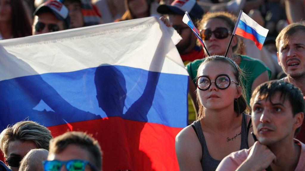 Russland-Fans können heute wieder die Daumen drücken.