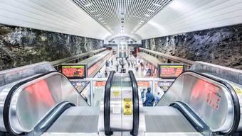 Schindler liefert nicht nur Rolltreppen für die Metro in Atlanta, sondern auch für den Flughafen in Riad.