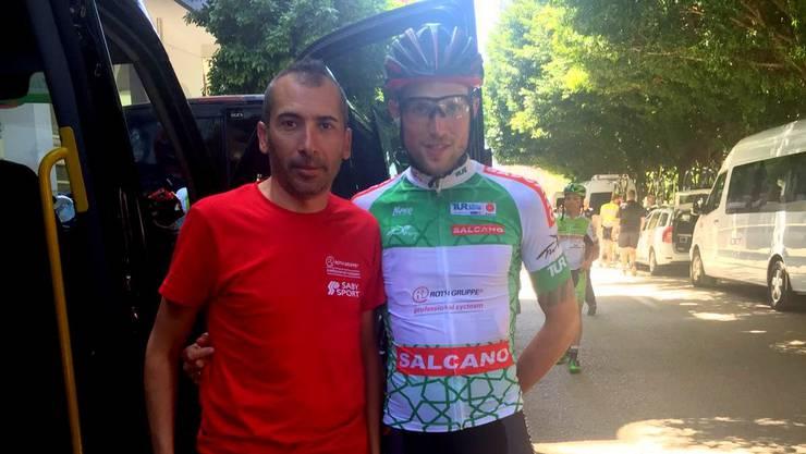 Alberto Cecchin (rechts) zeigt in der Türkei eine starke Leistung.