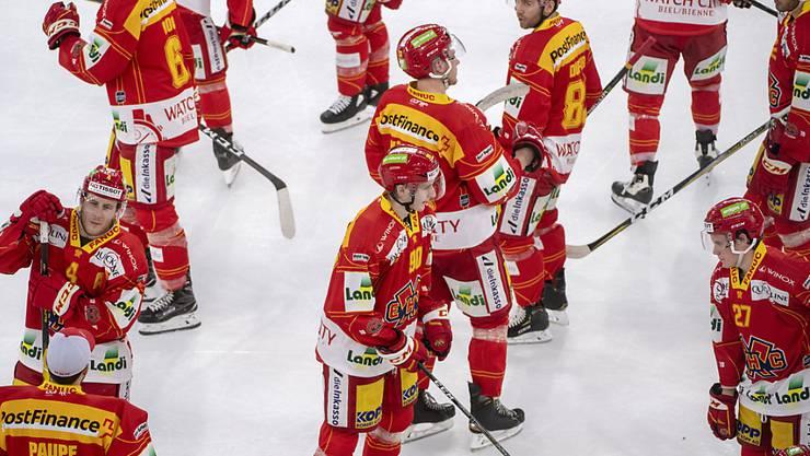 Die Bieler kassieren gegen Lausanne die zweite Niederlage innerhalb von 24 Stunden