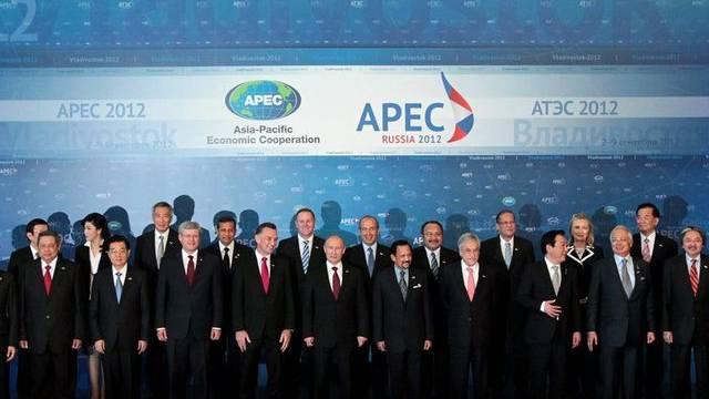 Teilnehmer des APEC-Gipfels 2012 (Symbolbild)