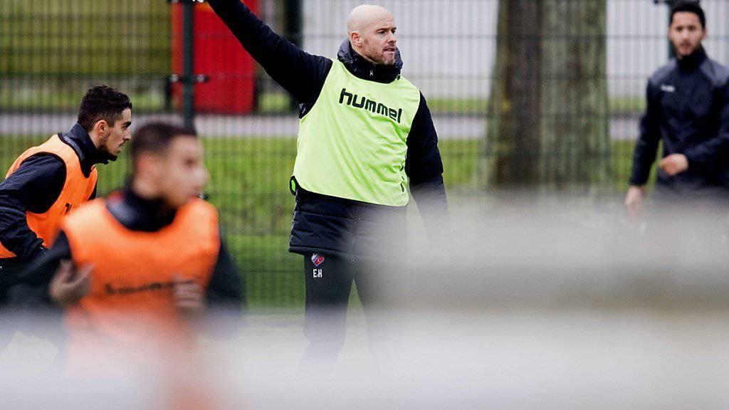 Erik ten Hag übernimmt bei Ajax Amsterdam das Kommando