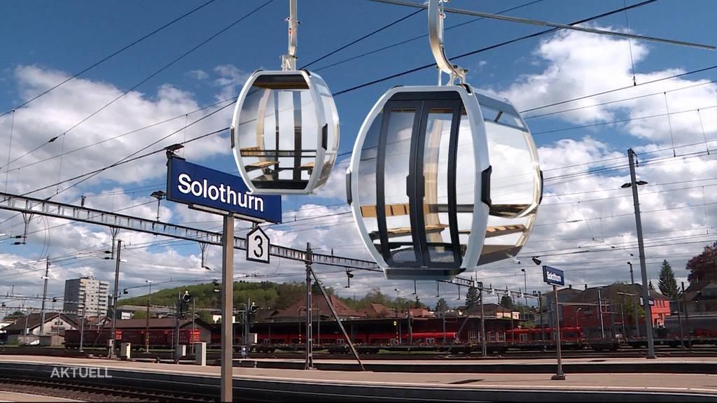 Projekt Aaregondel: Von Solothurn nach Luterbach schweben