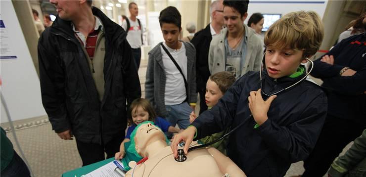 Auch Kindern wurde an der Scientifica etwas geboten.