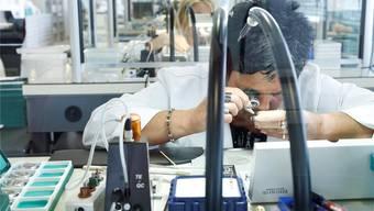 Ein Grossteil der Uhren der Titoni AG in Grenchen geht nach China.