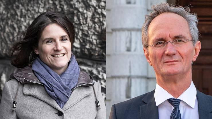 Nicole Mattiello und Herbert Bracher