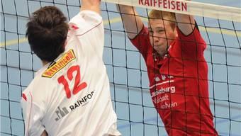 Voller Einsatz, aber keine Punkte: Smashs Mathias Jost (r.). awa