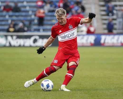 Spielte noch in der letzten Saison für Chicago: Bastian Schweinsteiger.