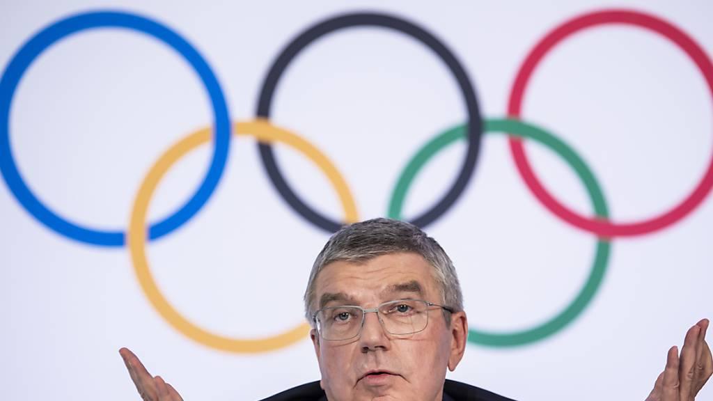 IOC-Präsident Bach: «Natürlich bedenken wir verschiedene Szenarien»
