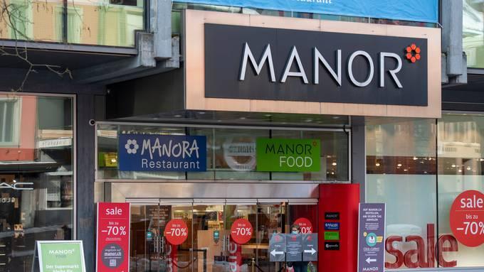 Lockdown zum Zweiten: Manor stellt wieder auf Kurzarbeit um