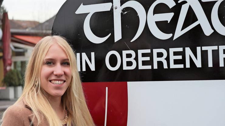 «Eine crazy Rolle»: Daria Ziörjen spielt dieses Jahr bei der Theatergesellschaft Oberentfelden eine Zauberin.