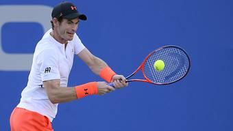 Auf dem Weg zu alter Stärke: Andy Murray gewann in Washington gegen die Weltnummer 18 Kyle Edmund