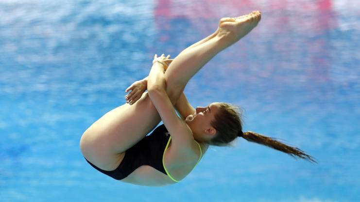 Wasserspringerin Michelle Heimberg will sich als eine von 32 Athletinnen für Tokio qualifizieren. Die 19-Jährige hat dafür bis im kommenden April mehrere Gelegenheiten.