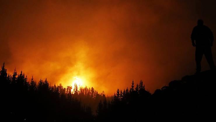 Die Flammen lodern in Chile weiter. Das Innenministerium hat nun Anklage wegen Brandstiftung erhoben.