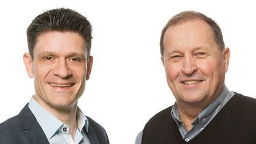 FDP-Kandidat: Matthias Suter (links) und SVP-Kandidat: Walter Gurtner.