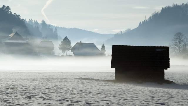 Winterstimmung im Emmental zwischen Signau und Schüpbach (Archiv)