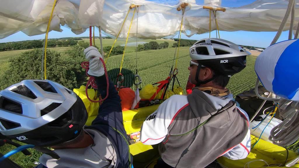 Weltmeister: Thurgauer gewinnen härtestes Gasballonrennen