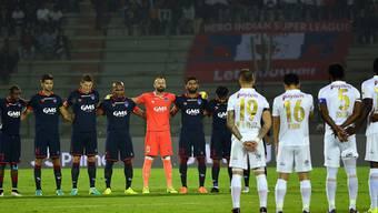 In den Europacup-Spielen der kommenden Woche wird es eine Trauerminute für die Todesopfer im Zusammenhang mit dem Flugzeugabsturz in Kolumbien geben