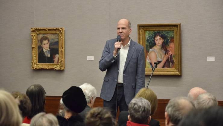Museumsdirektor Markus Stegmann will mit der neuen Ausstellung die Wahrnehmung von Kunst kritisch beleuchten.