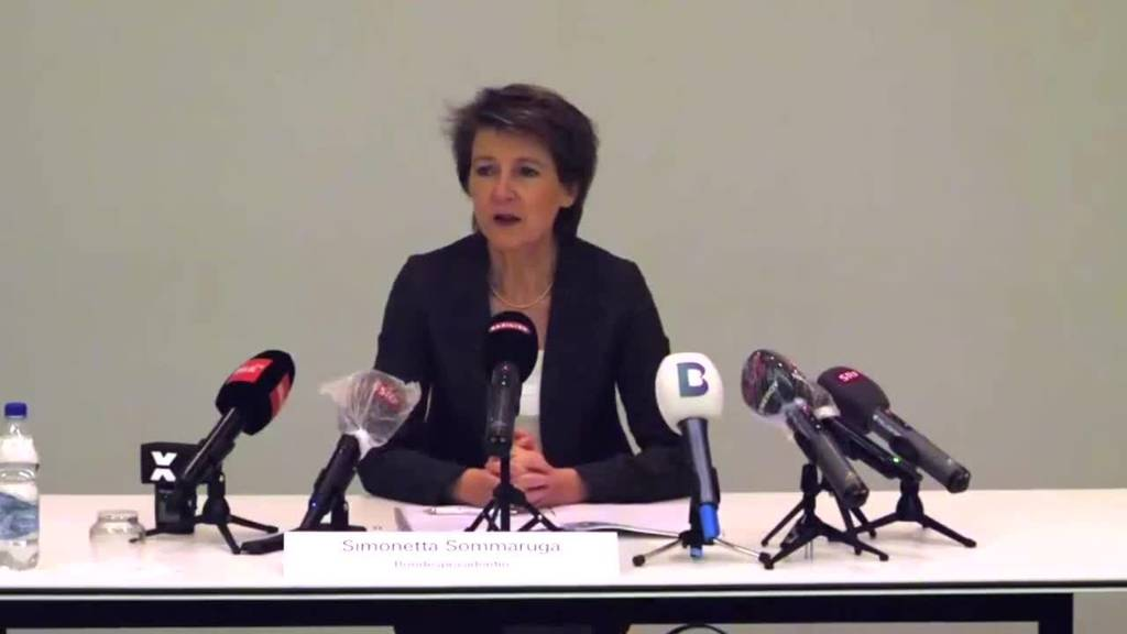 Bundespräsidentin: «Es gibt noch keinen Fahrplan zum Ausstieg»