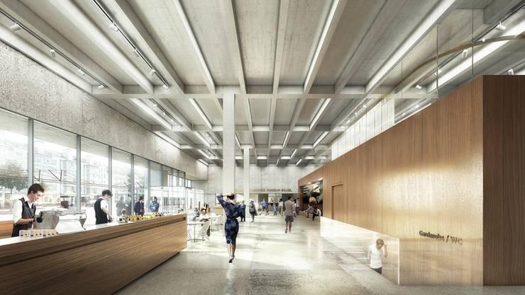 So soll das neue Naturhistorische Museum in Basel aussehen.