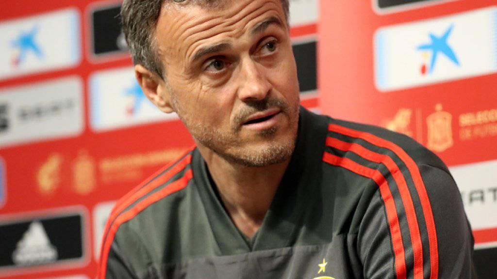 Luis Enrique hört als spanischer Nationalcoach auf