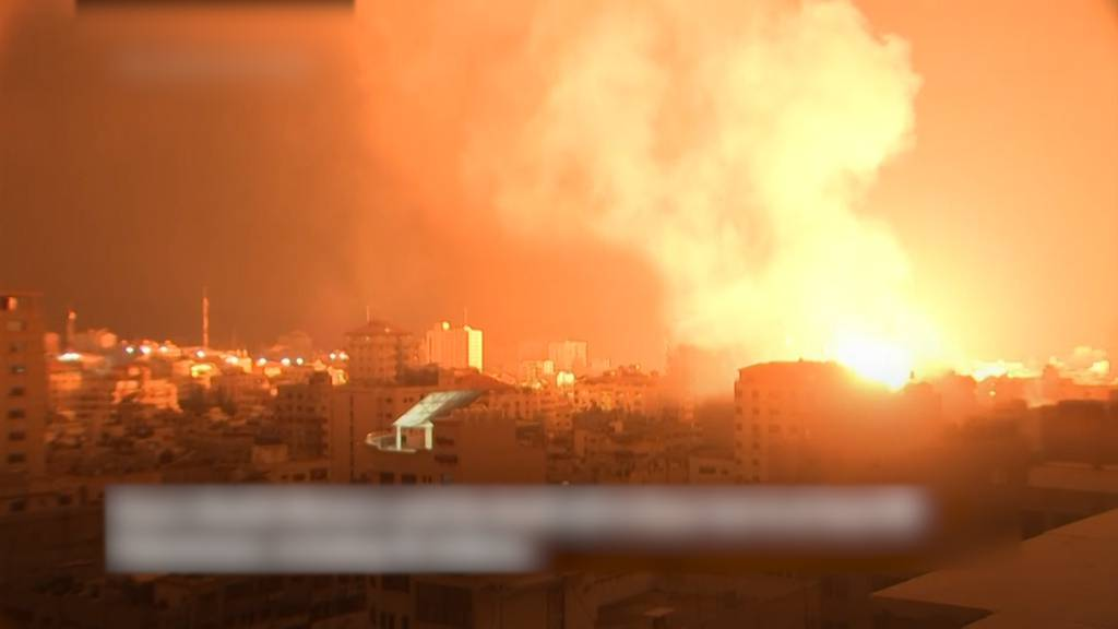 Mehr als 1600 Raketenabschüsse auf Israel - Über 80 Tote in Gaza