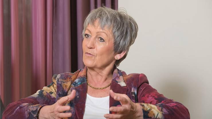 Christiane Roth ist seit 2012 Verwaltungsratspräsidentin der Psychiatrischen Dienste Aargau AG. Über das, was vorher passiert ist, will sie sich nicht äussern. ho