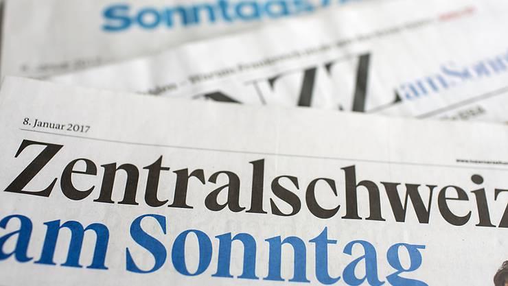 Die Reform der Altersvorsorge und die Berner Krawalle sind die prägenden Themen in den Schweizer Sonntagszeitungen. (Archivbild)