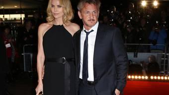 Es ist die grosse Liebe: Sean Penn und Charlize Theron (Archiv)