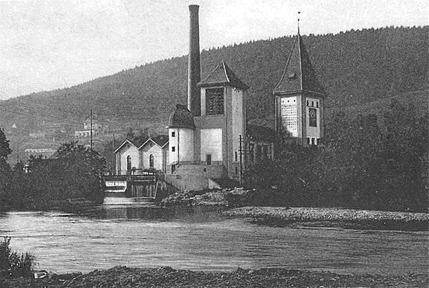Eine undatierte Karte aus dem Postkartenbuch der Stadt Aarau zeigt die Türmli aus der Nähe.