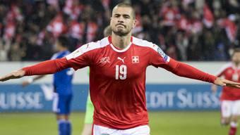Eren Derdiyok empfiehlt sich mit seinen Auftritten bei Galatasaray Istanbul für eine Nomination für die Schweizer Nationalmannschaft