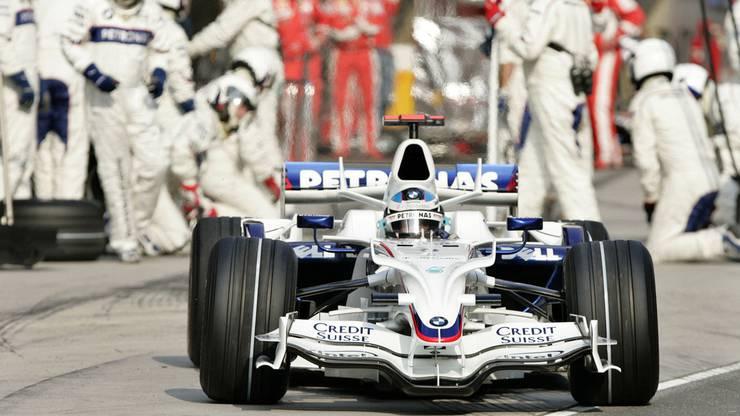Im Bild: BMW Sauber F1.08; Fahrer: N. Heidfeld (GER), R. Kubica (POL)
