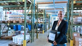 Susanne Müller leitet die Winoil AG in Däniken seit 2018: «Wir gehören eben noch zur ‹alten Schule›.»
