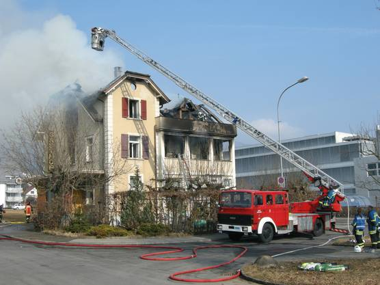Ein Defekt in der Wirtewohnung hatte den Brand ausgelöst