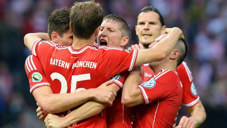 Als erstes deutsches Team schafft Bayern München das Triple