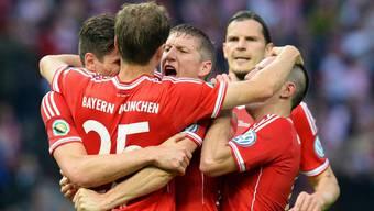 Bayern München holt auch noch den Cup