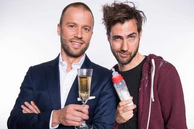 Das Duo mit Manuel Burkart und Jonny Fischer ist aktuell der populärste Humor-Act der Schweiz. Mimik, Gags und Musik sind die Erfolgsfaktoren.