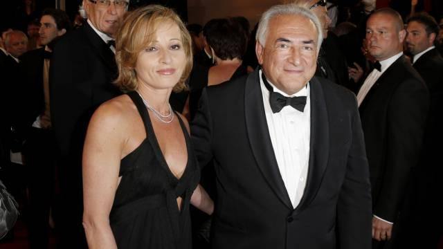 Dominique Strauss-Kahn und seine Neue, Myriam L'Aouffir (Archiv)
