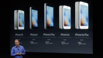 Einst sollte ein iPhone allen passen. Nun hat der Kunde die Wahl.