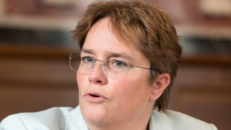 Erwartet steigende Arbeitslosenzahlen: Magdalena Martullo-Blocher.