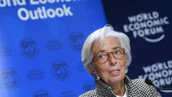 IWF-Chefin Christine Lagarde hat am Weltwirtschaftsforum in Davos dazu aufgerufen, den wirtschaftlichen Aufschwung für Reformen zu nutzen.