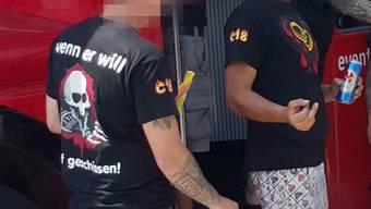 Neonazis attackierten während eines Polterabends einen Juden in Zürich.