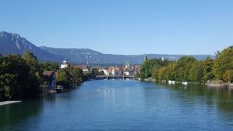 Solothurn ist nah am Wasser gebaut – zu unserem Glück!
