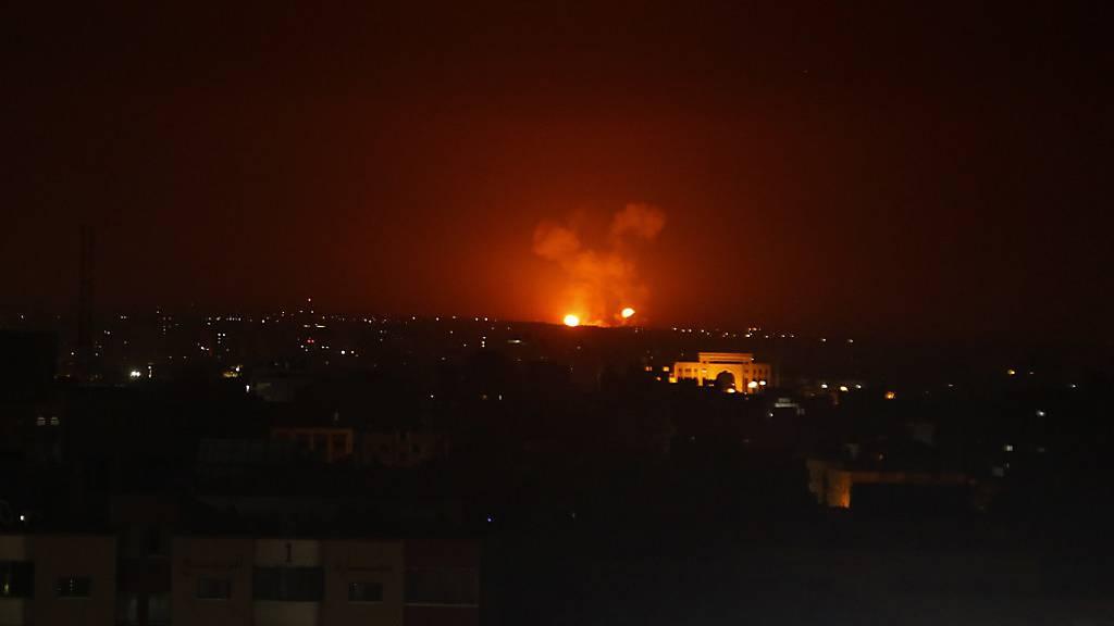 Damaskus: Israelische Luftangriffe in der Provinz Aleppo
