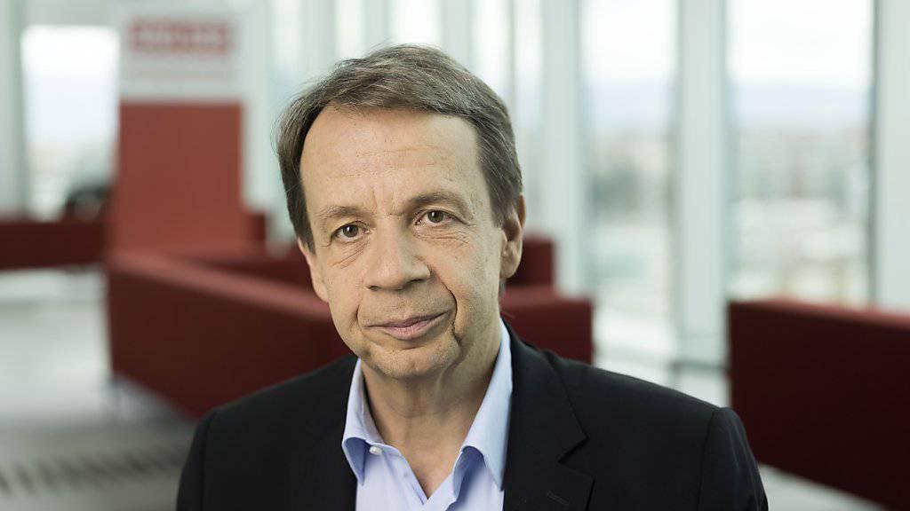 Gilles Marchand wird Generaldirektor bei der SRG