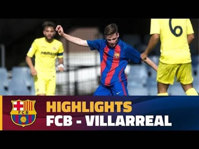 Highlights des Copa-del-Rey-Finals zwischen dem FC Barcelona Juvenil A und Villarreal