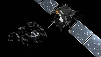 Das Mini-Labor «Philae» landet auf dem Kometen «Chury»