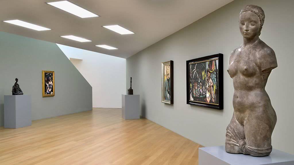 Ein Blick in die neue Ausstellung der Hilti Art Foundation in Vaduz.